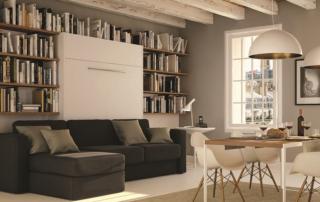 Letti a scomparsa e soluzioni per piccoli spazi - mobili A scomparsa